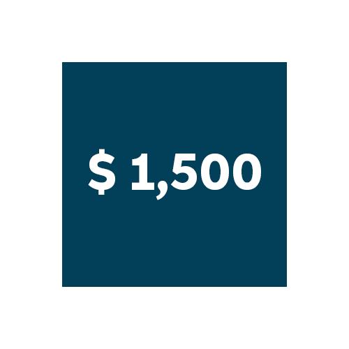 PRICE: $1500